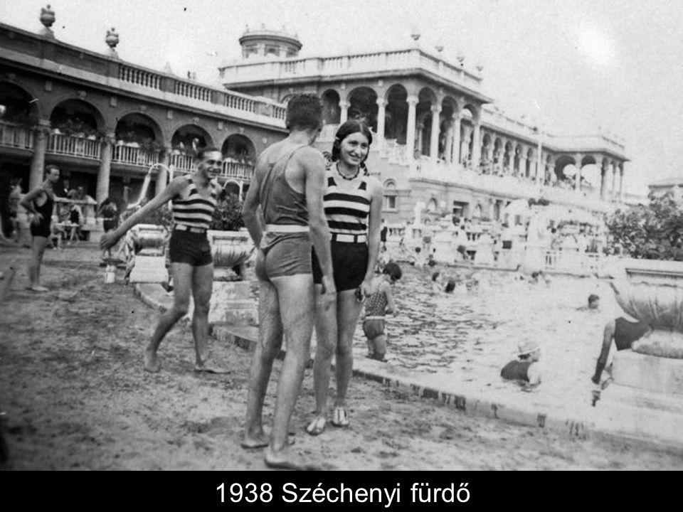 1938 Széchenyi fürdő