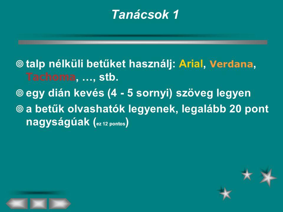 Dia szövegelemei  szöveges helyőrző  szöveg  felsorolás  szövegdoboz  szöveg  felsorolás