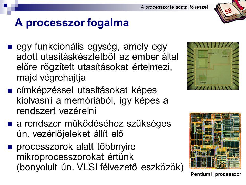 Bóta Laca Fejlesztés 7. (A cache elvi működése) A processzorok fejlesztéséről 72