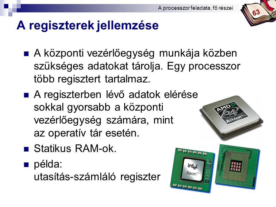 Bóta Laca Moore-szabály a processzorokra a technológiai haladás jellemezhető vele (megfigyelés alapján) 1965.