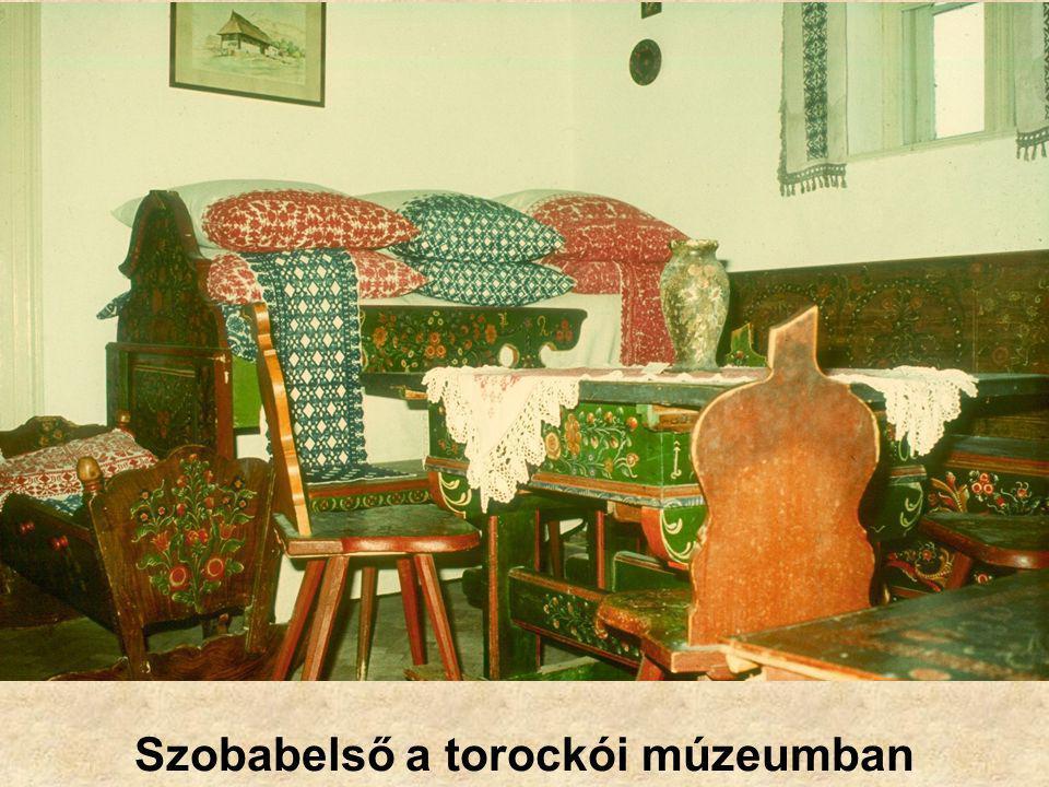 Szobabelső a torockói múzeumban