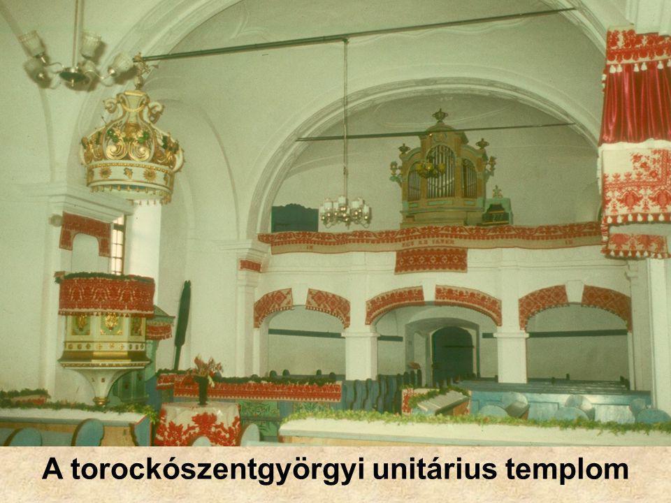 A torockószentgyörgyi unitárius templom
