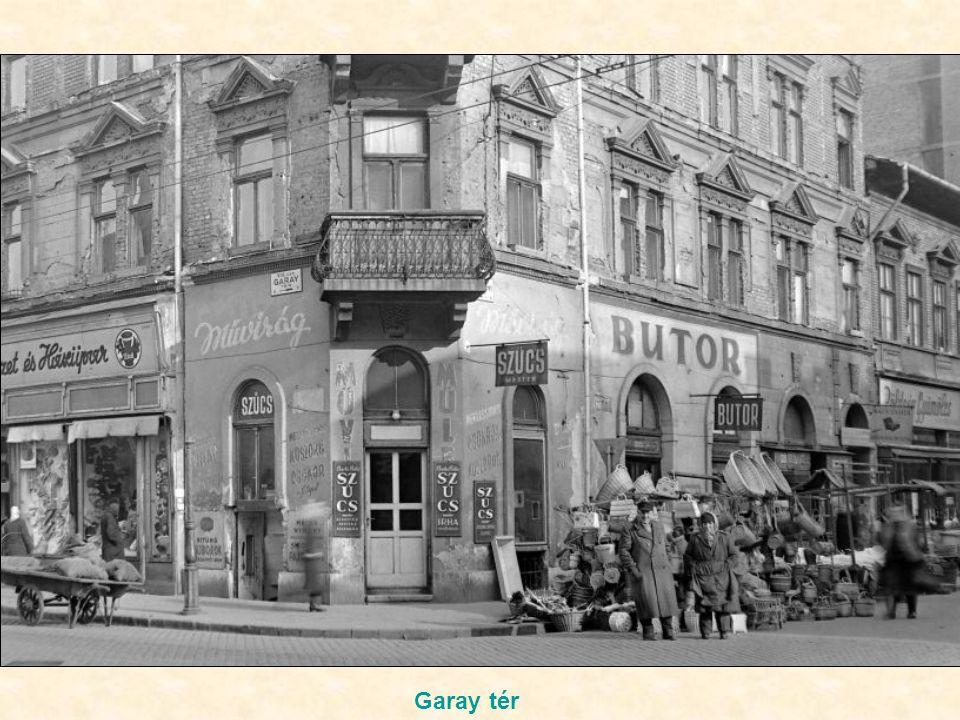 """Az """"Elek"""" italbolt az István út ( Landler J.) – Nefelejcs utca sarkon"""