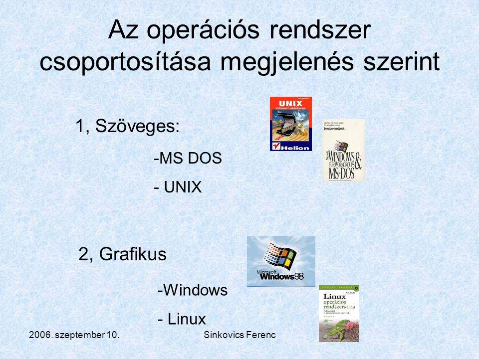 2006.szeptember 10.Sinkovics Ferenc Windows XP indítása I.