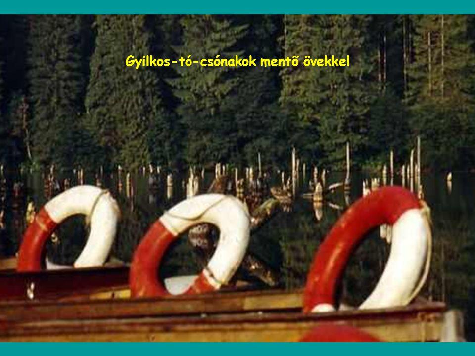Gyilkos-tó - Oltárkő