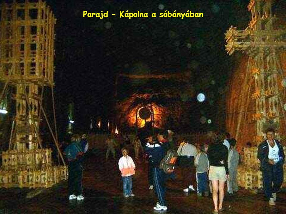 Parajd - Sóbánya bejárata