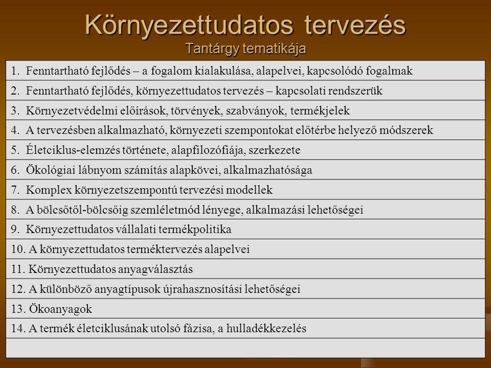 Ajánlott szakirodalom Tóthné dr.