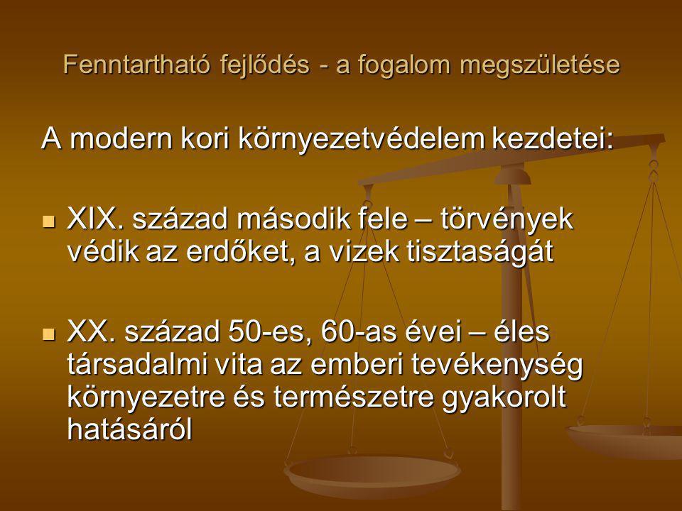 A fenntartható fejlődés Magyarországon 2008 Környezeti tudáslánc 2008 Környezeti tudáslánc