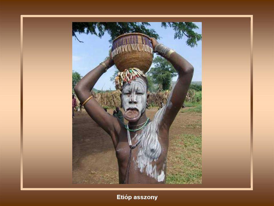 Etióp asszony