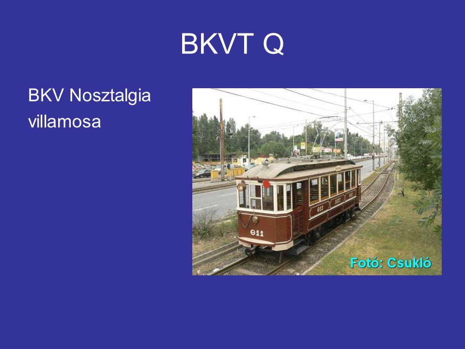 BKVT Q BKV Nosztalgia villamosa