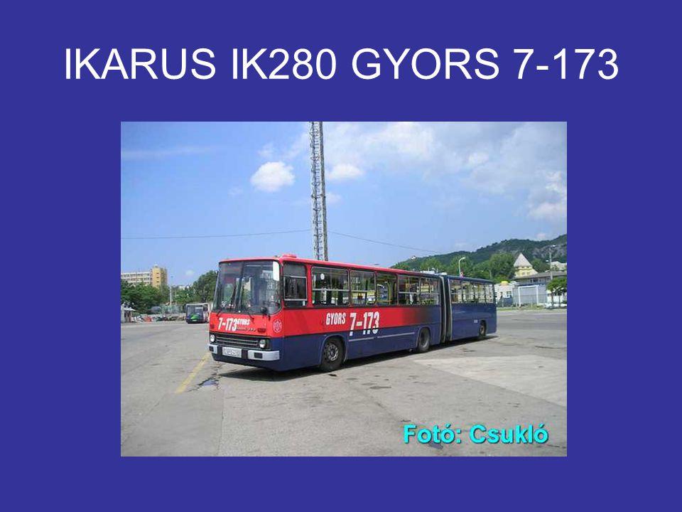 IKARUS IK280 GYORS 7-173
