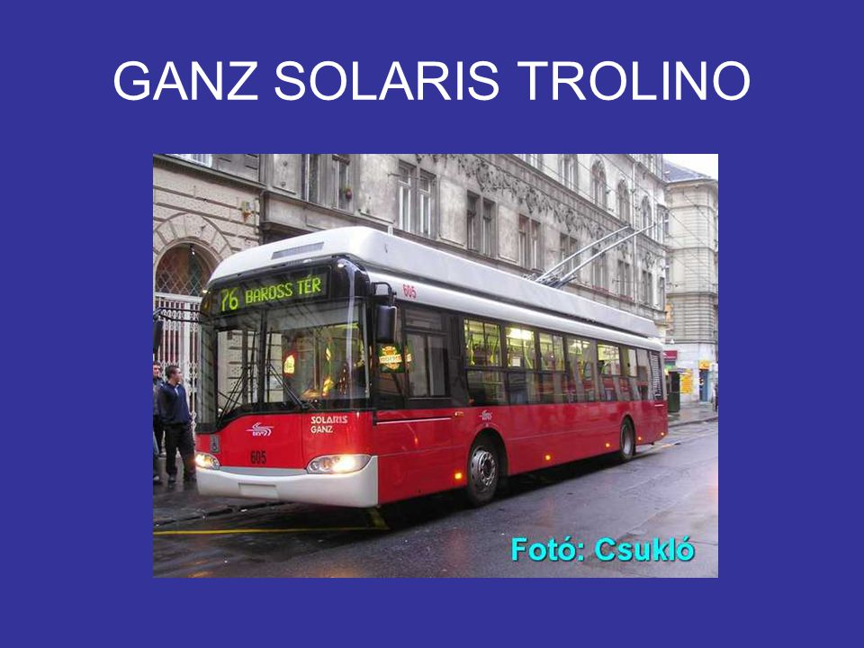 GANZ SOLARIS TROLINO