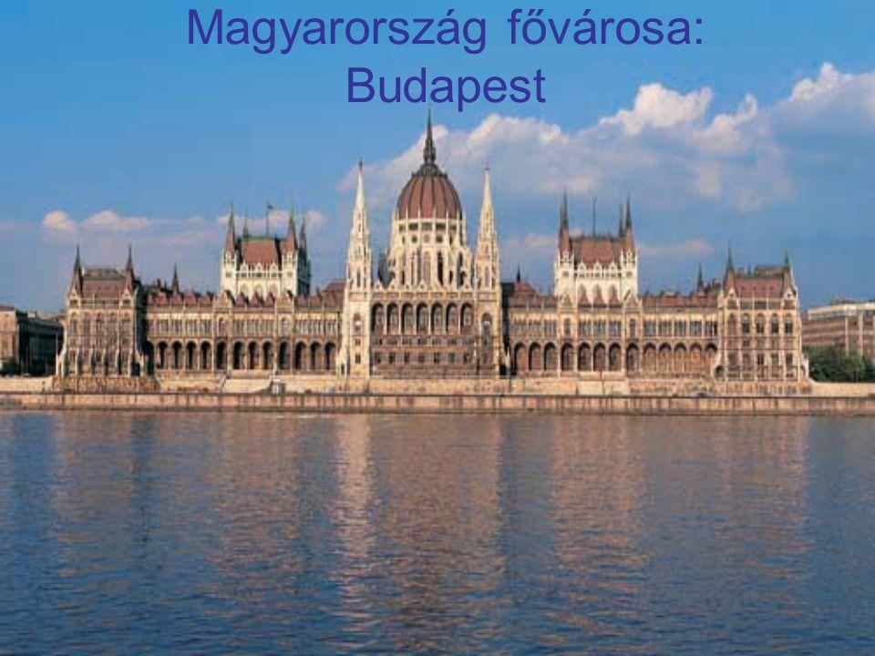 Magyarország fővárosa: Budapest