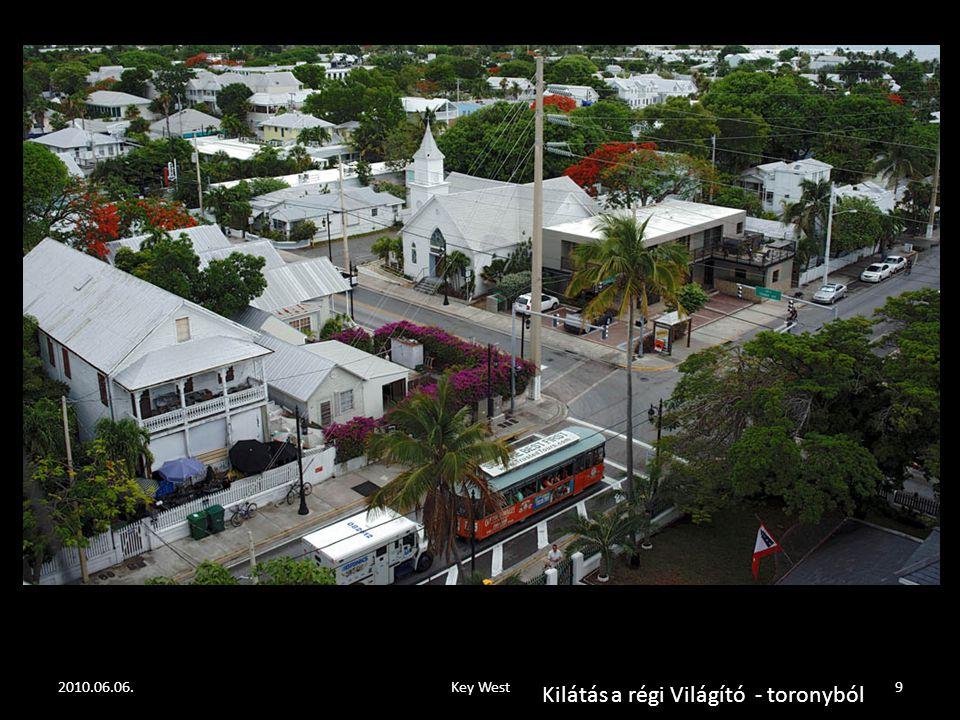 2010.06.06.Key West19 Az Öreg halász és a tenger, olajfestmény a Hemingway ház faláról, kb.