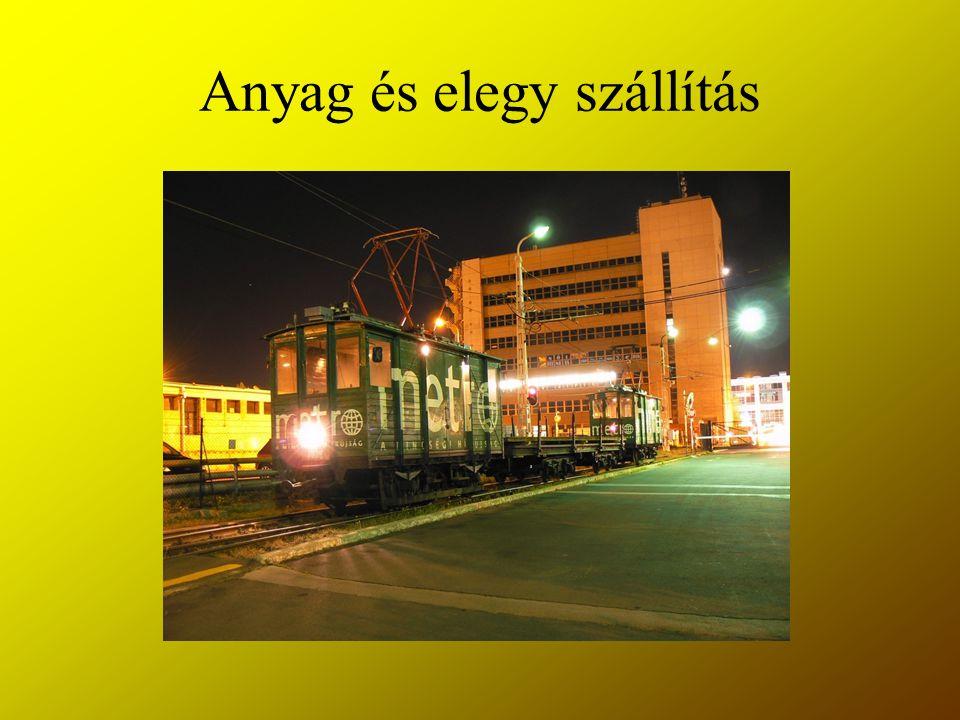 Anyag és elegy szállítás