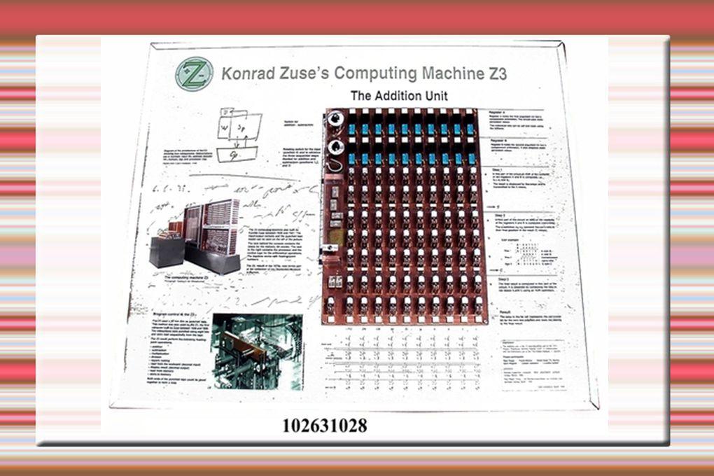 Z4 Az 1945-ös Z4 ismét elektromechanikus felépítésű volt.