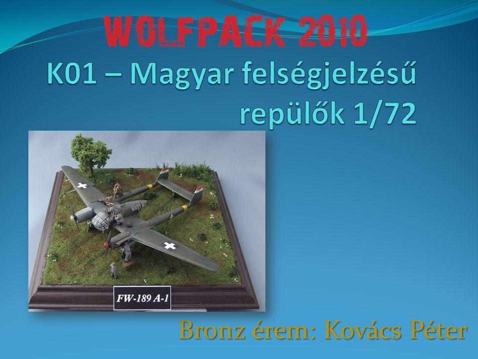 Bronz érem: Kovács Péter