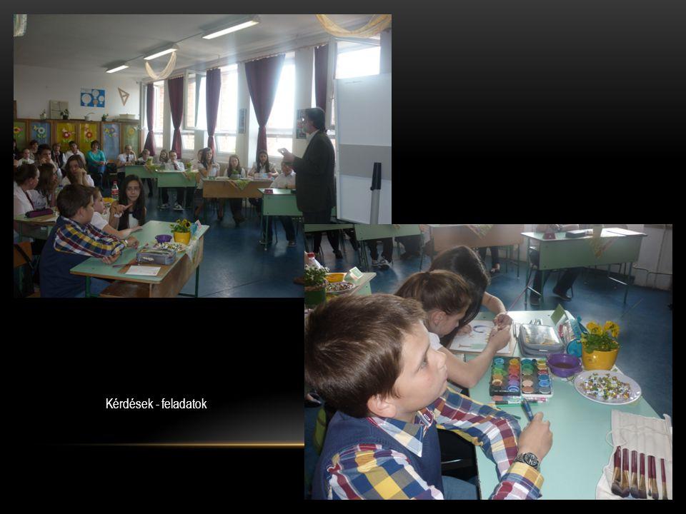 A második helyezett csapat Ady Endre Általános Iskola, Gyál Gáncs Anita – Kiss Kitty Európa – Pirkó Szabina Éva