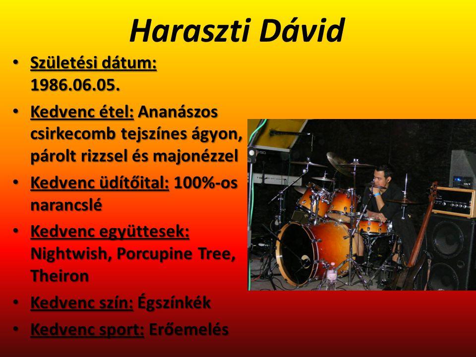Horváth Zsolt Születési dátum: 1979.12.10.Születési dátum: 1979.12.10.