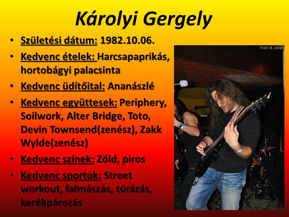Kovács Márton Születési dátum: 1983.12.23.Születési dátum: 1983.12.23.