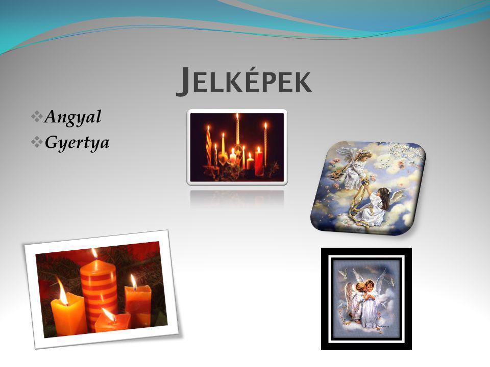 Angyal A Karácsonynak számos ünnephez hasonlóan vannak jelképei.