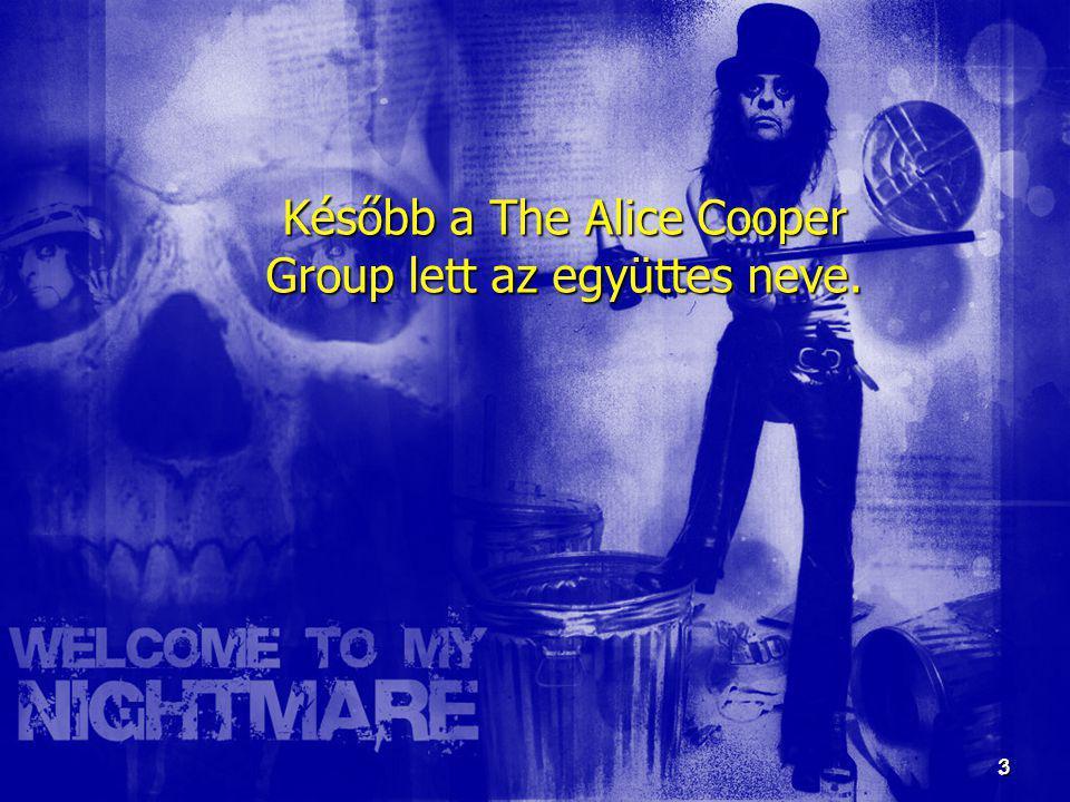 3 3 Később a The Alice Cooper Group lett az együttes neve.