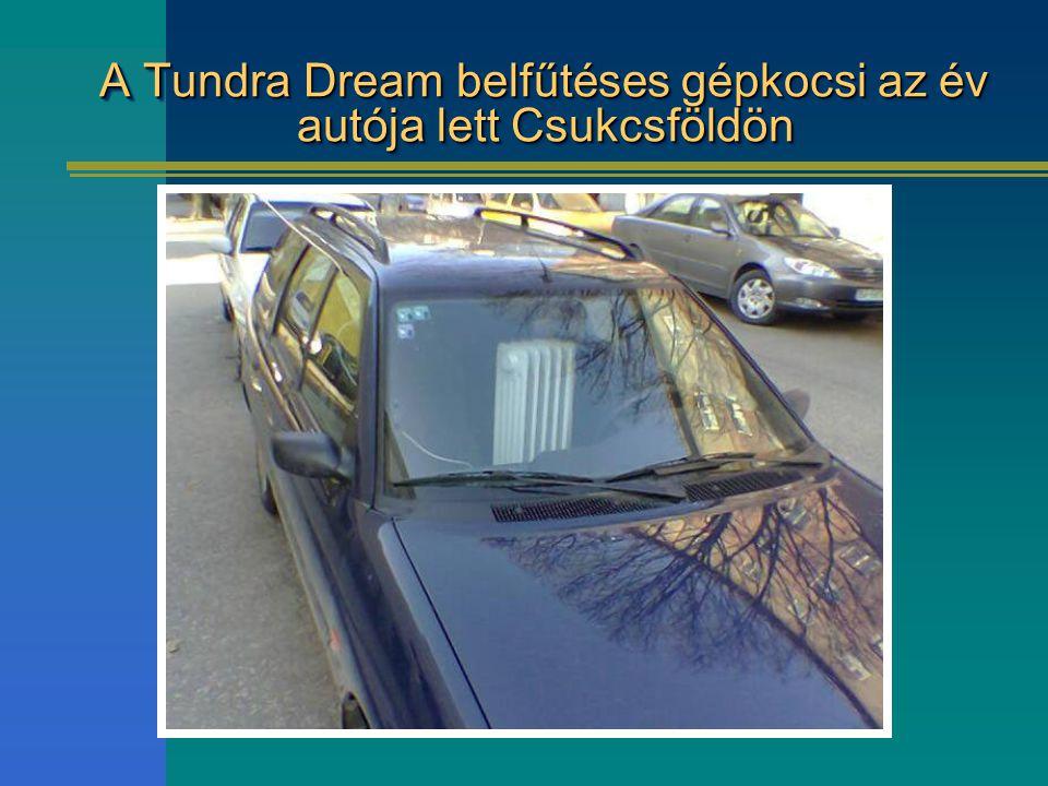 A Tundra Dream belfűtéses gépkocsi az év autója lett Csukcsföldön