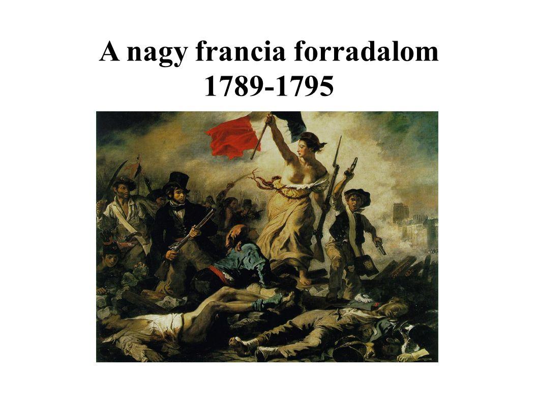 Danton és Robespierre kivégzése Marat a fürdőkádban
