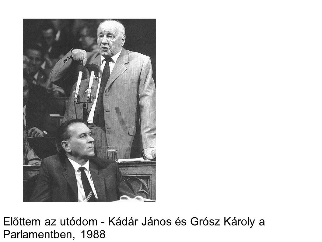 Elõttem az utódom - Kádár János és Grósz Károly a Parlamentben, 1988