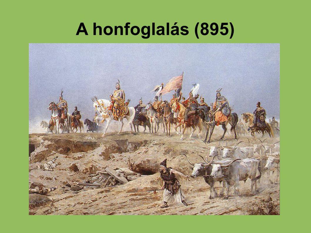 A honfoglalás (895)