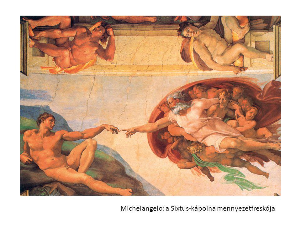 Michelangelo: a Sixtus-kápolna mennyezetfreskója