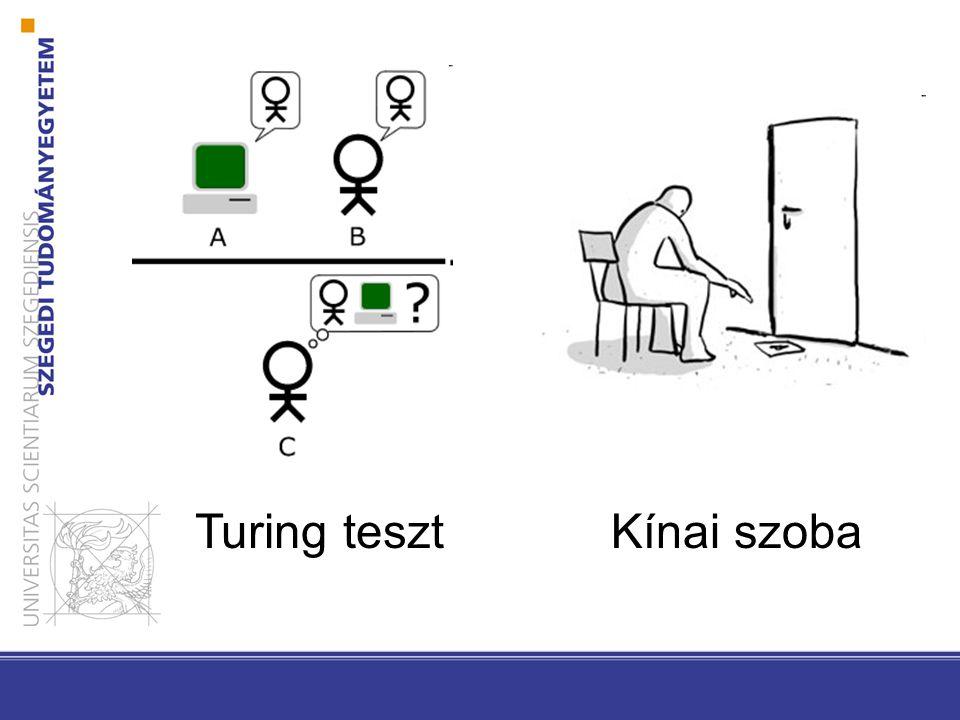 Turing tesztKínai szoba