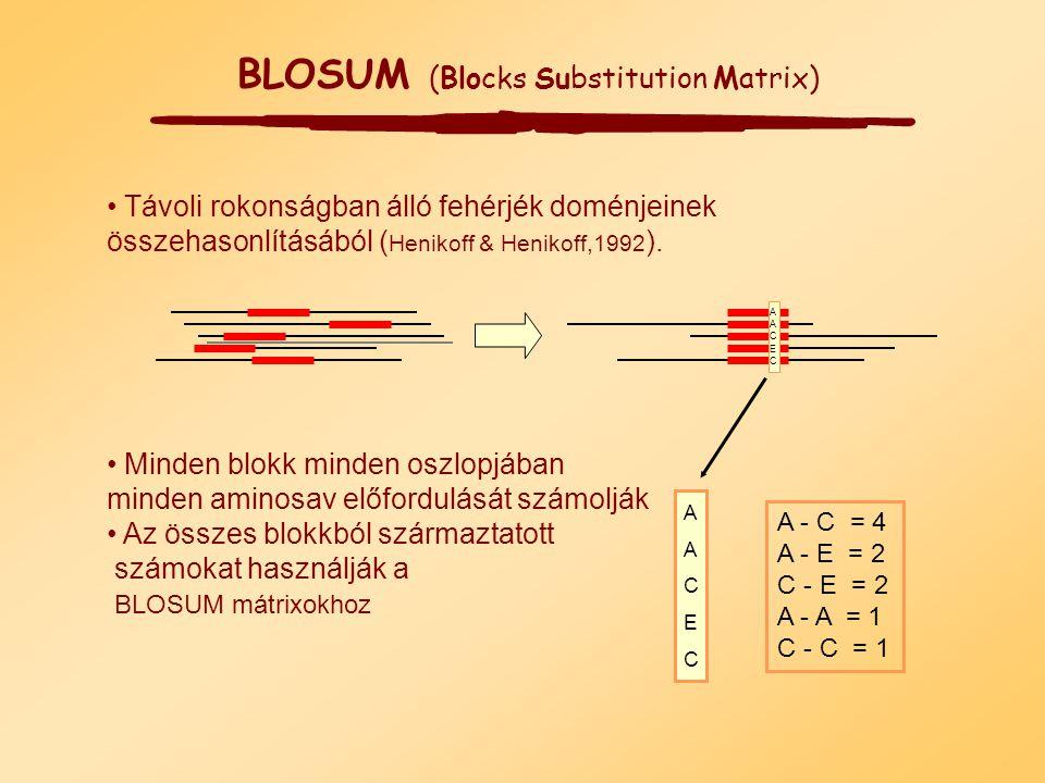 A R N D C Q E G H I L K M F P S T W Y V B Z A 2 -2 0 0 -2 0 0 1 -1 -1 -2 -1 -1 -3 1 1 1 -6 -3 0 2 1 R -2 6 0 -1 -4 1 -1 -3 2 -2 -3 3 0 -4 0 0 -1 2 -4
