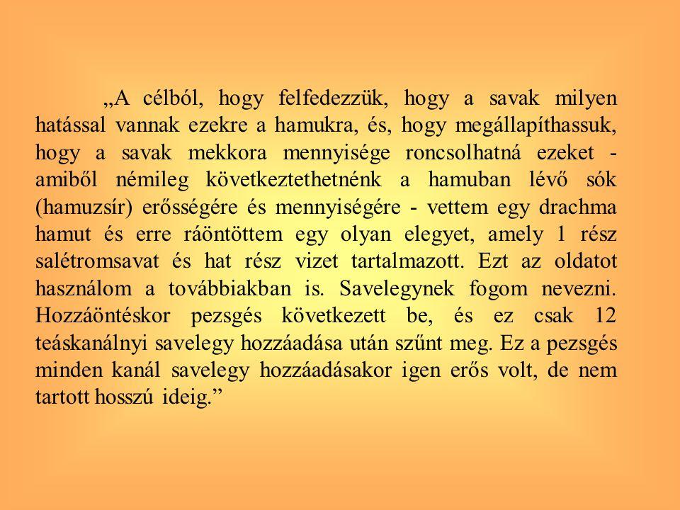 SAV-BÁZIS EGYENSÚLYOK Sav-bázis elméletek 1.