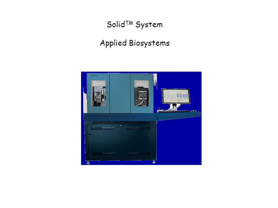 Solid TM System Applied Biosystems