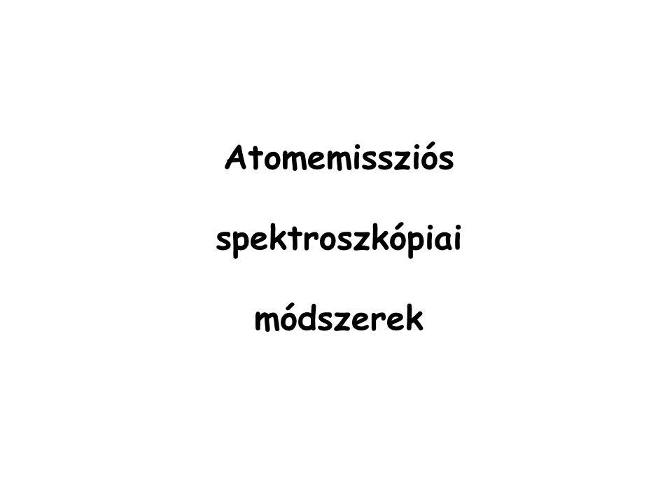 Kémiai atomizálás ( AAS ) alkalmas As, Sb, Bi, Ge, Se, Sn, Te meghatározására ezek hidridjei (pl.