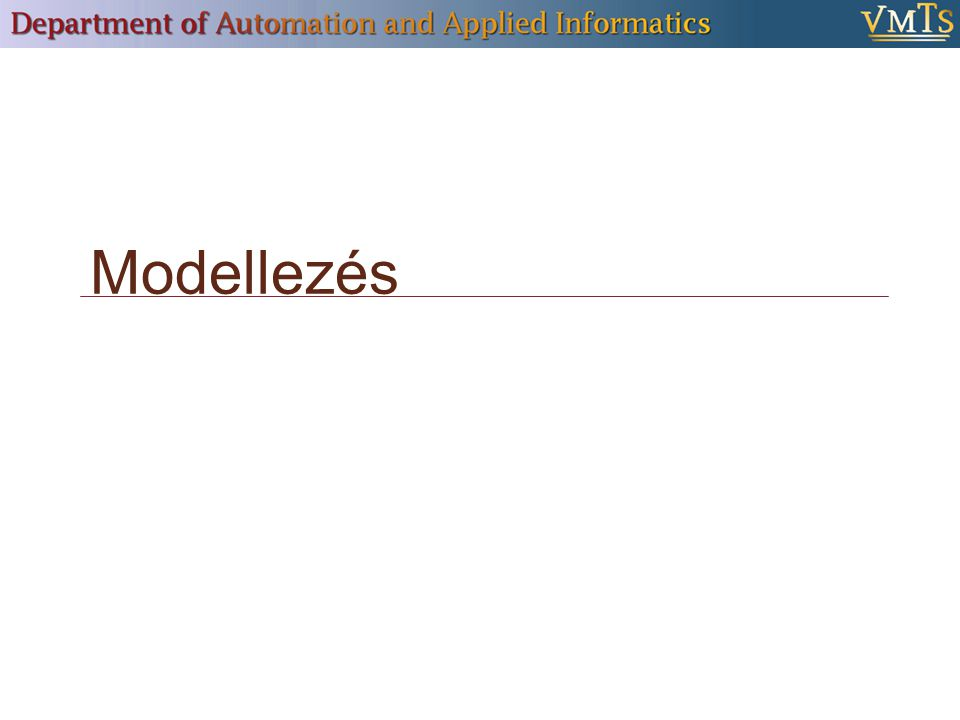 """ Mérnöki diszciplínák sikerrel alkalmazzák  Szoftvertechnológiában is  Az előadás témája: Vizuális/grafikus modellek """"Dobozok és a közöttük lévő vonalak Fastruktúrába rendezett megjelenítés Erőforrás-szerkesztők, stb."""