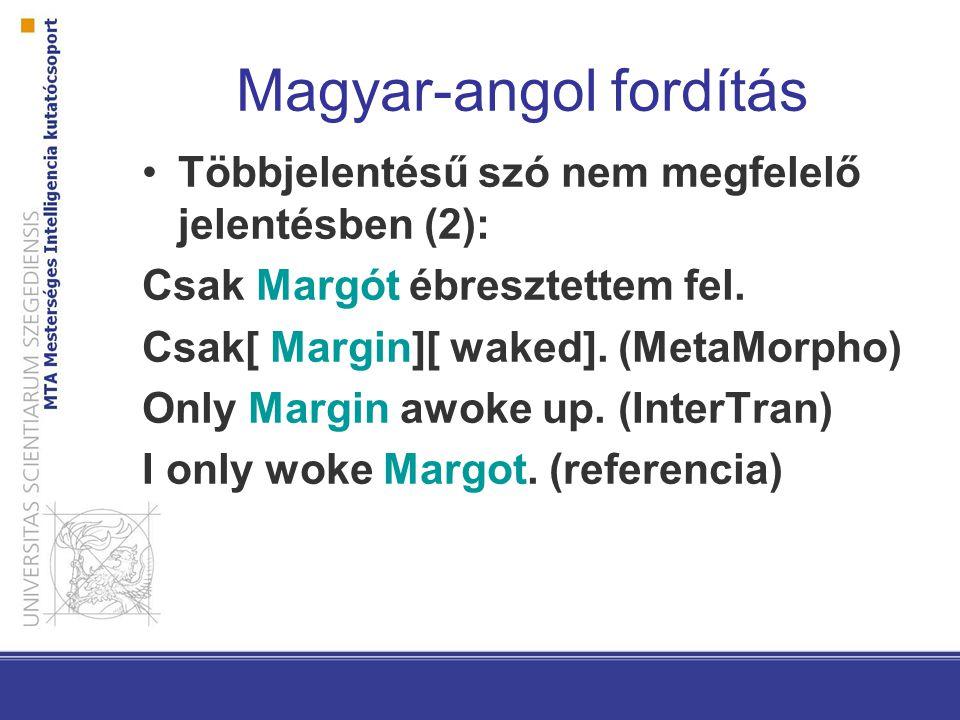 Magyar-angol fordítás Többjelentésű szó nem megfelelő jelentésben (3): Hány kutyája van a királynőnek.