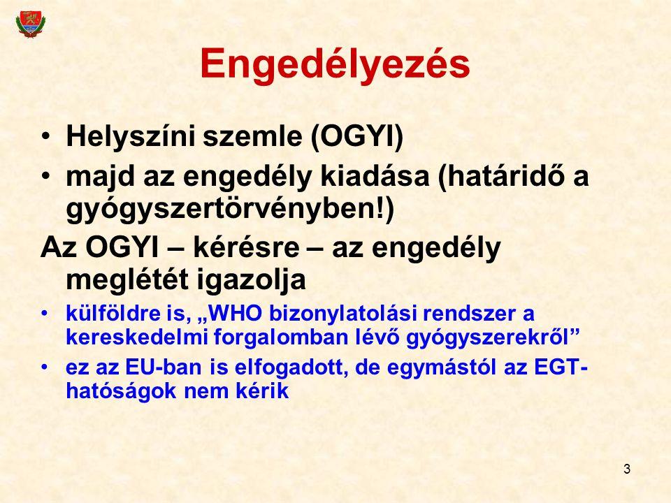 4 Gyógyszergyártás Részletezi a 44/2005.(X.