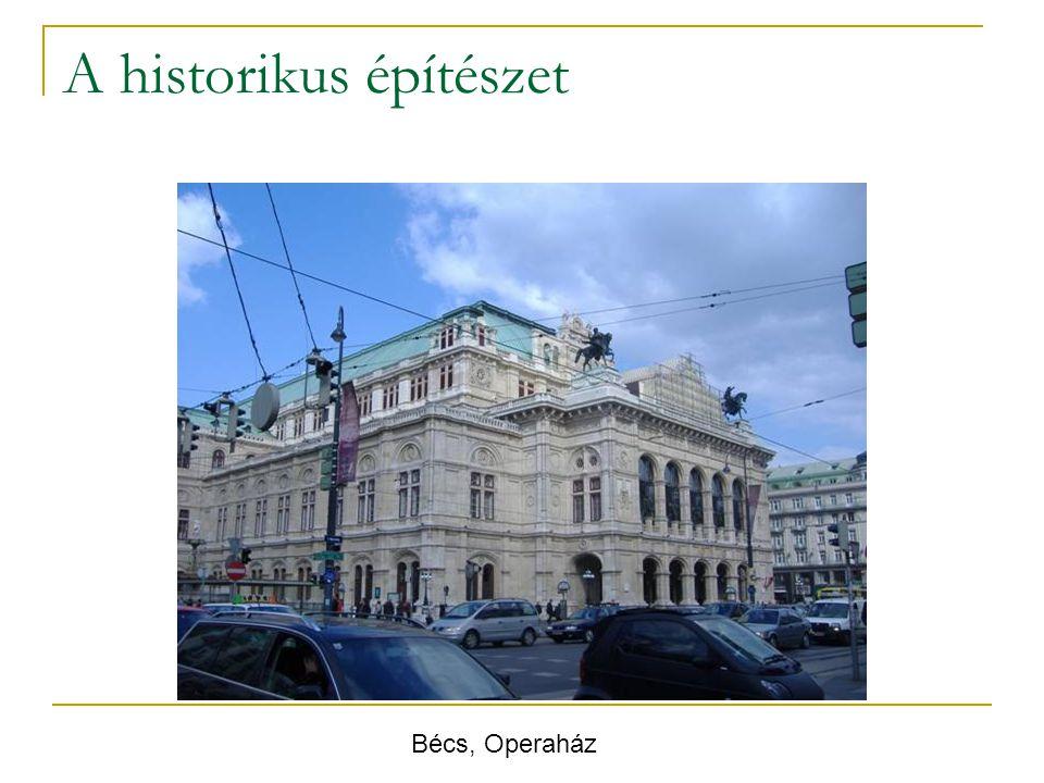 A historikus építészet Bécs, Operaház