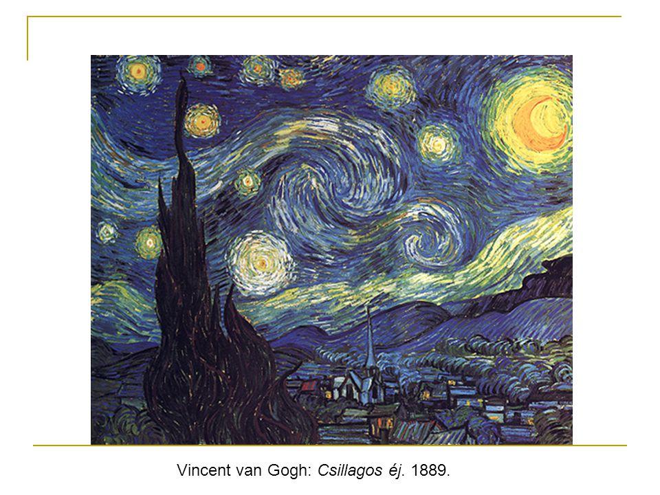 Vincent van Gogh: Csillagos éj. 1889.