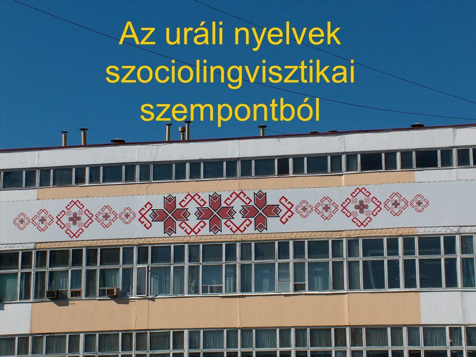 Az uráli nyelvek szociolingvisztikai szempontból