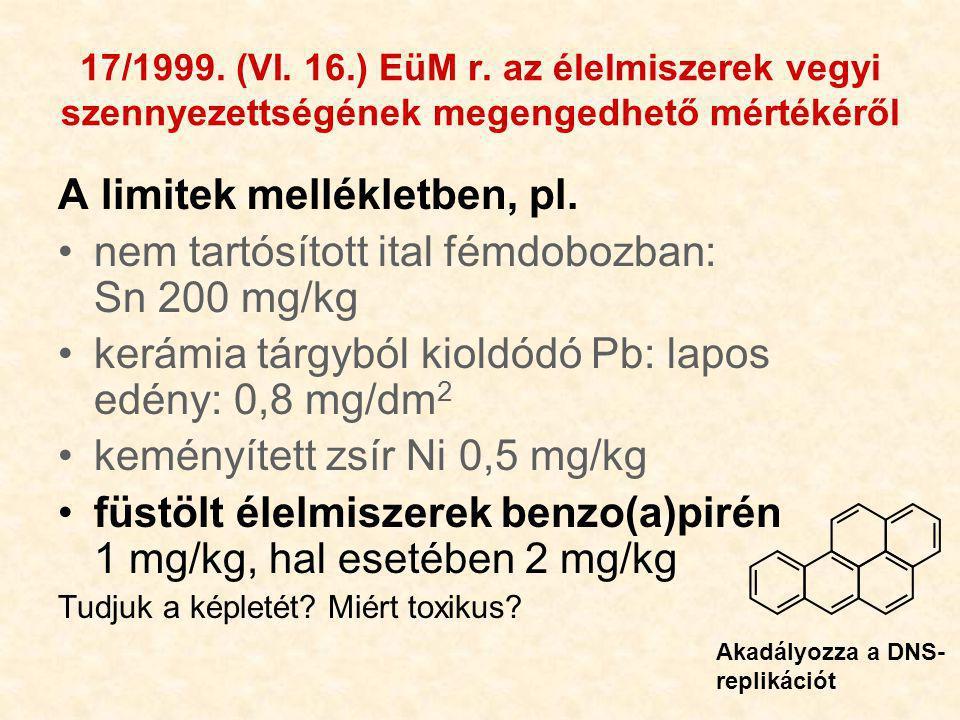 35 17/1999.(VI. 16.) EüM r.
