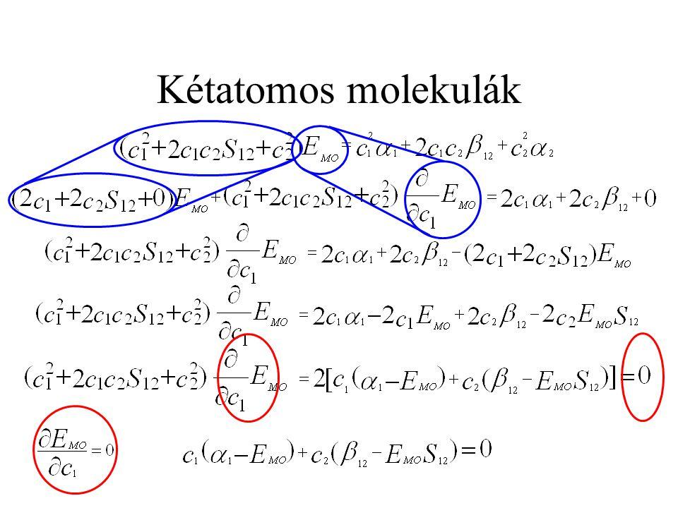 Kétatomos molekulák