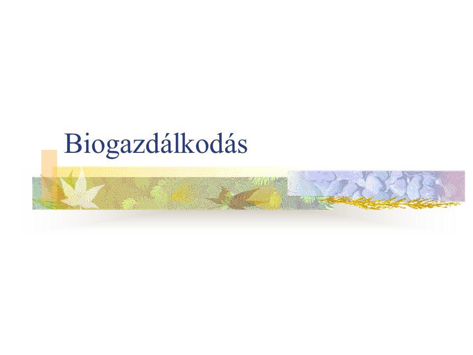 Biogazdálkodás