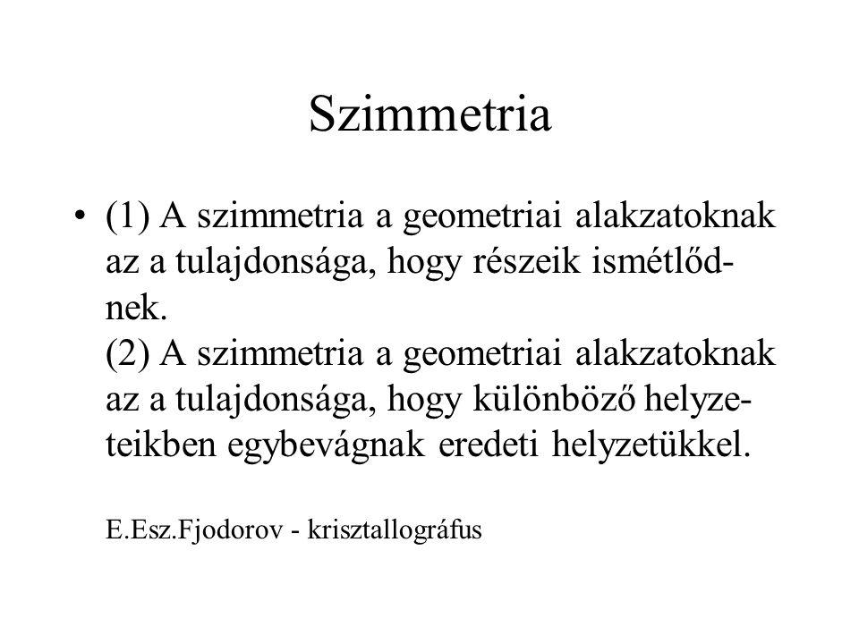 Az MO-k szimmetriája C2C2 z y x 11 22 n1n1 n2n2  yz 11 22 n1n1 n2n2