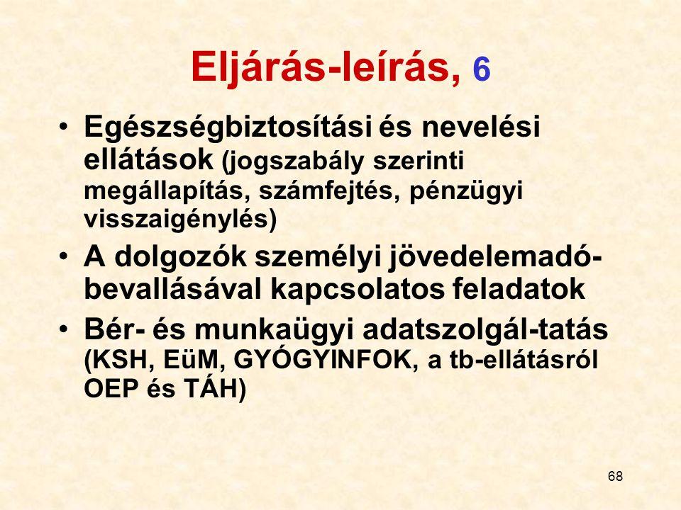 69 Eljárás-leírás, 7 Hivatkozások Munka Törvénykönyve Közalkalmazotti tv.