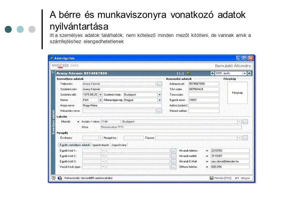 OEP ellátások Itt tudjuk megnézni az adott ellátás számfejtésének részleteit.