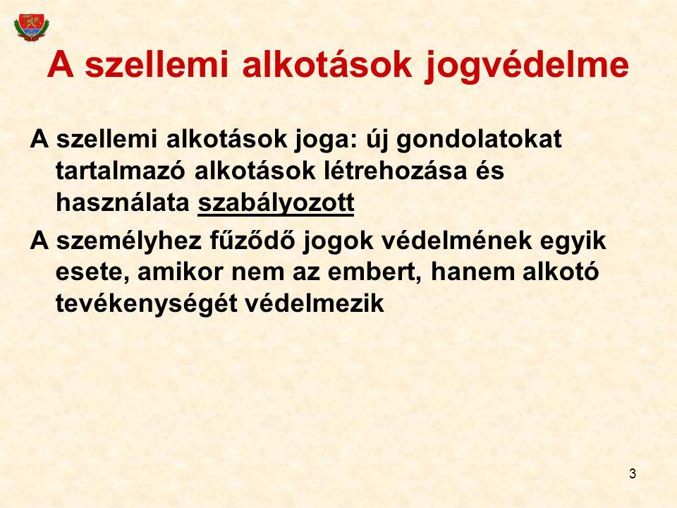 74 Védjegyoltalom abszolút gátló okai Nincs megkülönböztető jellege pl.