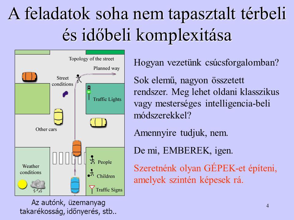 45 Összefoglalás Mit takar a gépi intelligencia kifejezése.